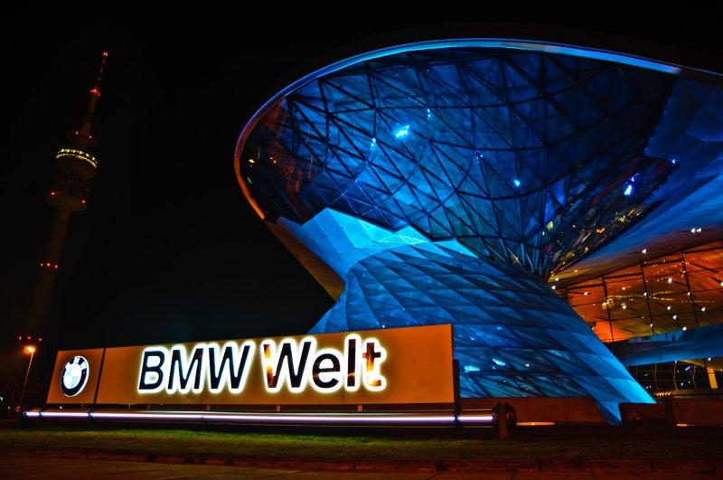 BMW Welt mit Olympiaturm